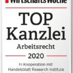 Kanzlei Bietmann als Top Kanzlei 2020 ausgezeichnet