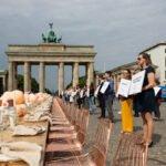 Hochzeitsbranche demonstriert bundesweit