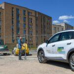 Baustart in Bergedorf: Gasnetz Hamburg errichtet Wasserstoff-Beimischung am Schilfpark