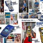 Mobile Brady-Etikettendrucker für die Kabelkennzeichnung