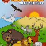 Neuerscheinung Mein Malbuch - Tiere der Bibel im Rosamontis Verlag