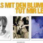 DAS MIT DEN BLUMEN TUT MIR LEID - Pop- und Rock-Chansons im ART Stalker Berlin