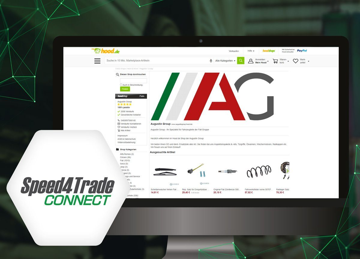 Speed4Trade integriert Hood.de