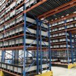 Staubfreies Lager dank smarter Kunststoffpalettenbox