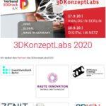 Verband 3DDruck Berlin lädt zu hochkarätiger Veranstaltung ein: »3DKonzeptLabs«