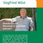 Demokratie und Wirtschaft in Schieflage, und nun? - neues gesellschaftskritisches Buch von Siegfried Wüst