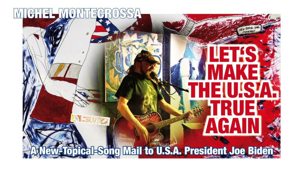 Let's Make The USA True Again - New-Topical-Rocksong CD von Michel Montecrossa
