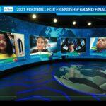 Internationales Kindersozialprogramm von Gazprom F4F vereint Teilnehmer aus über 200 Ländern. (Bild: Football for Friendship)